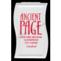 Ancient Page Mini Dye Ink Pad - Red