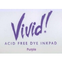 Vivid Dye Ink Pad - Purple