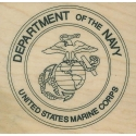 US Marine Corp Seal Rubber Stamp