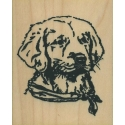 Labrador Retriever Rubber Stamp