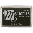 Memories Pigment Ink Pad - Coctail Olive