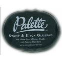 Palette Stamp & Stick Glue Pad - Black