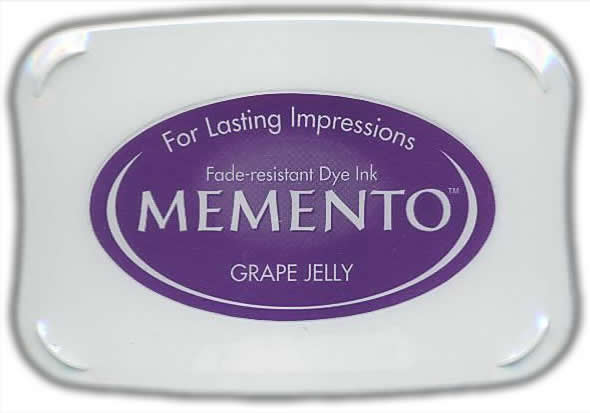 Memento Dye Ink Pad - Grape Jelly Purple