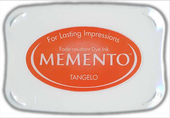 Memento Dye Ink Pad - Tangelo Orange